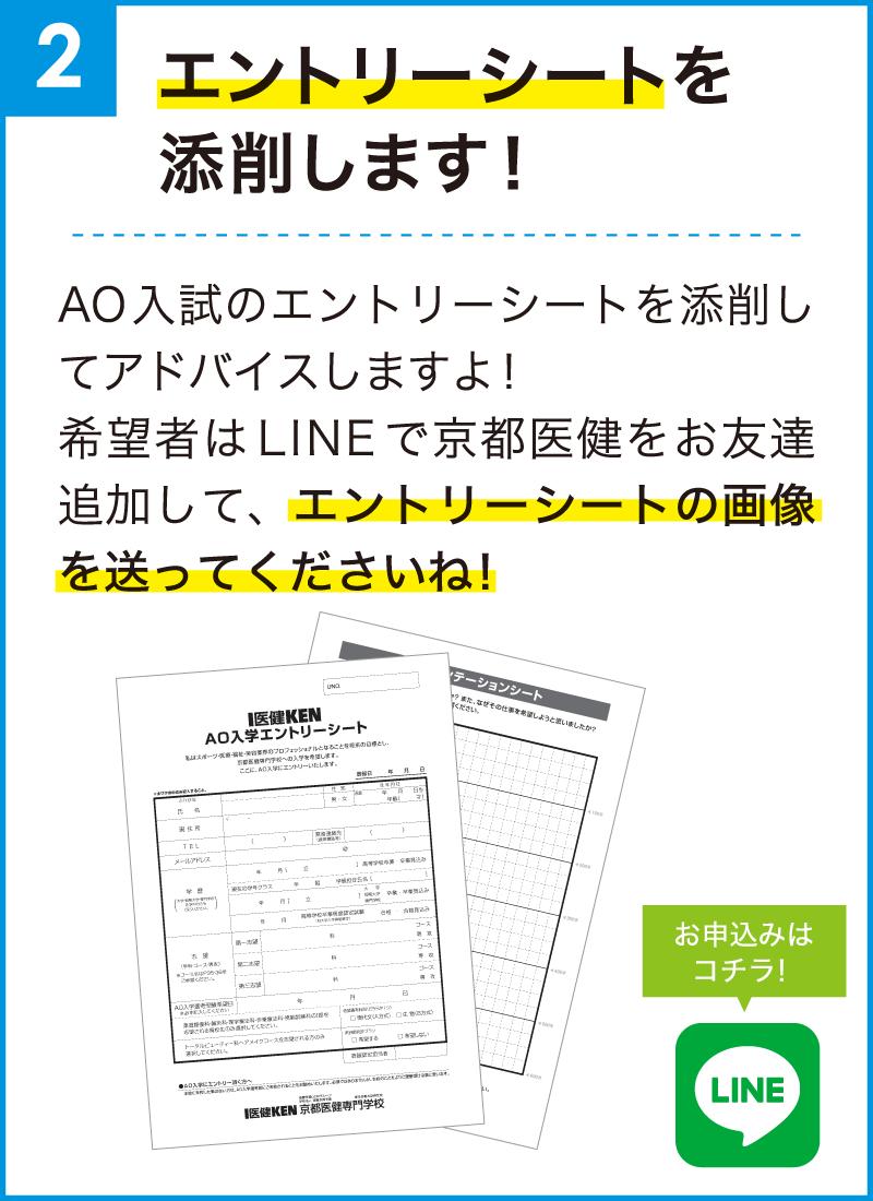 入試 エントリー シート Ao